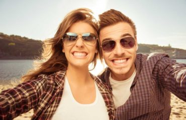 People smiling because of the teeth whitening at Dr. Gallagher.